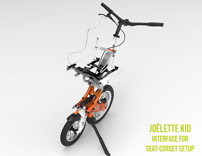 Joëlette Kid all-terrain stroller